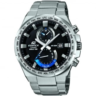 Men's Edifice World Time Alarm Watch EFR-542D-1AVUEF