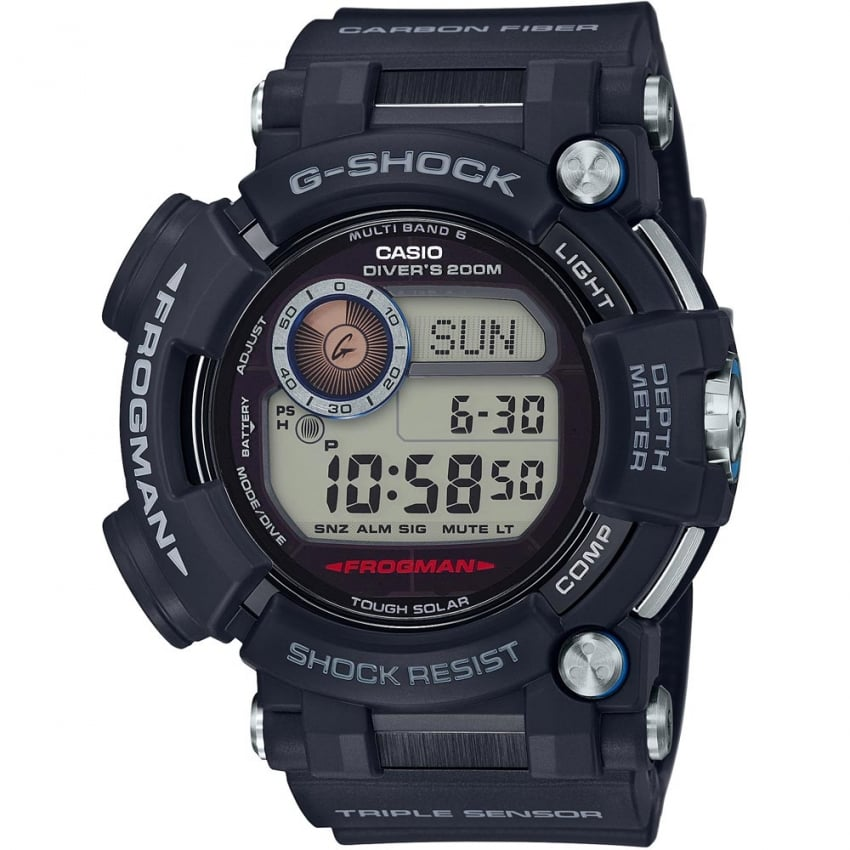 Casio Men's G-Shock Master Of G Frogman Diver's Watch GWF-D1000-1ER