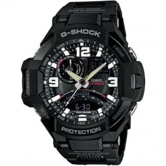 Men's G-Shock Premium Sky Cockpit GravityMaster Watch GA-1000FC-1AER