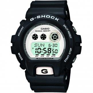 Men's White LCD Dial G-Shock Watch GD-X6900-7ER