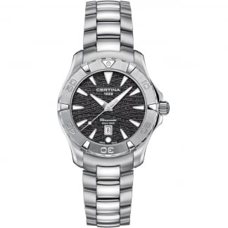 Ladies DS Action Lady 34mm Black Dial Diver's Watch