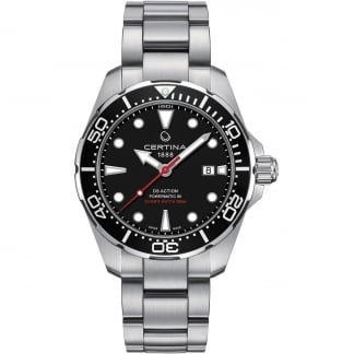 Men's DS Action Diver Automatic Black Dial Watch