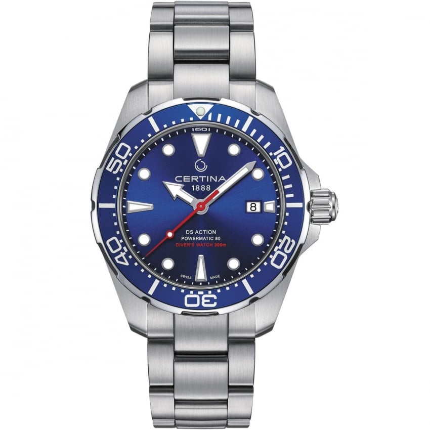 Certina Men's DS Action Diver Automatic Blue Dial Watch C032.407.11.041.00