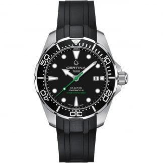 Men's DS Action Diver Automatic Rubber Strap Watch