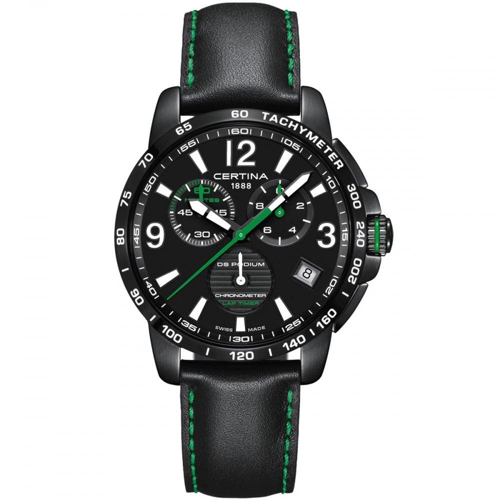 Laptimer 2000 >> Certina Men's DS Podium Chronograph Lap Timer Quartz Watch - Watches from Francis & Gaye ...