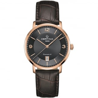 Men's Rose Gold DS Caimano Powermatic 80 Watch