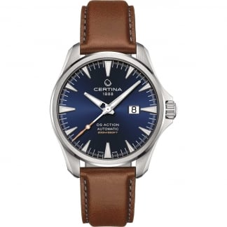 Men's DS Action Automatic Big Date Blue Dial Watch