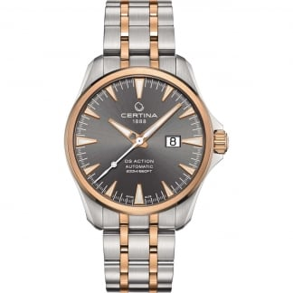 Men's DS Action Automatic Big Date Two Tone Watch