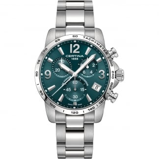 Men's DS Podium Green Chronograph Watch