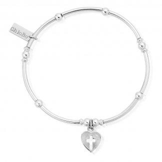 Iconic Cross My Heart Mini Noodle Bar Bracelet MNB8