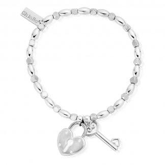 Iconic Lock & Key Bracelet FR1