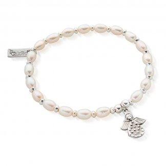 Iconic Mini Angel Pearl Bracelet SBPED822