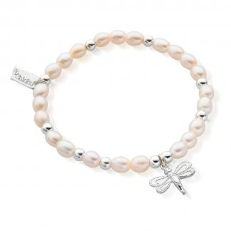 Iconic Mini Dragonfly Pearl Bracelet SBPED402