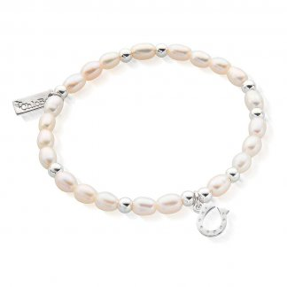 Iconic Mini Horseshoe Pearl Bracelet SBPED423