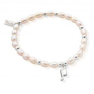 Iconic Mini Music Note Pearl Bracelet SBPED919