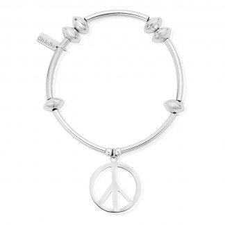 Iconic Noodle Disc Peace Bracelet NDA9