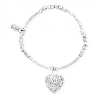 Lucky13 Square Mini Noodle Heart Bracelet SQMN2