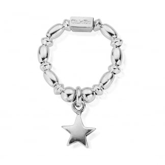 Mini Rice Star Stretch Ring SRMR2806