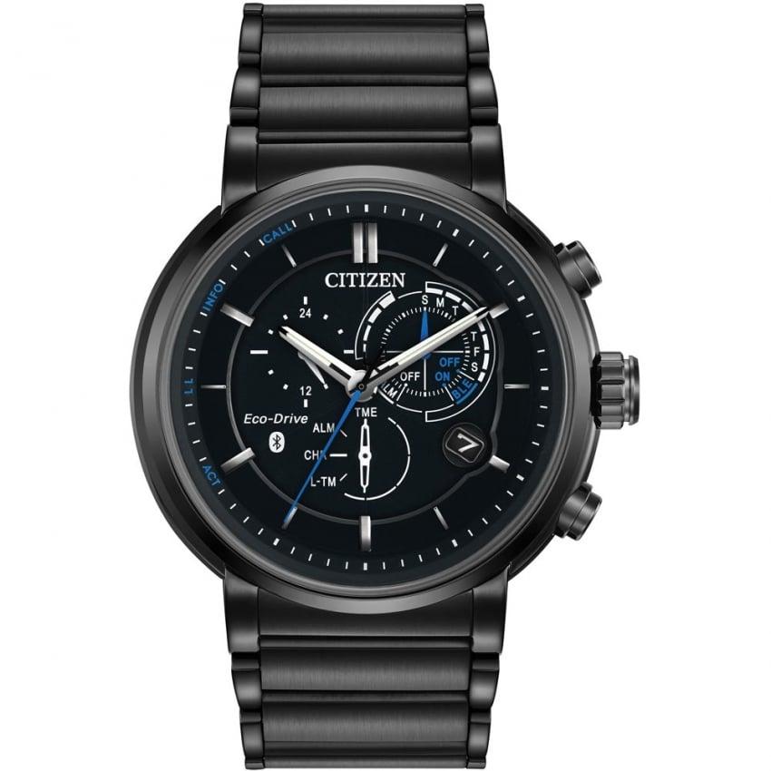 Citizen Men's Black PVD Proximity Bluetooth Eco-Drive Watch BZ1005-51E