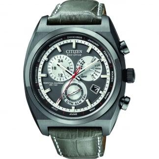 Men's Calibre 8700 Perpetual Calendar Grey Leather Watch BL8127-02E
