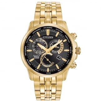 Men's Gold PVD Calibre 8700 Perpetual Calendar Watch BL8142-50E