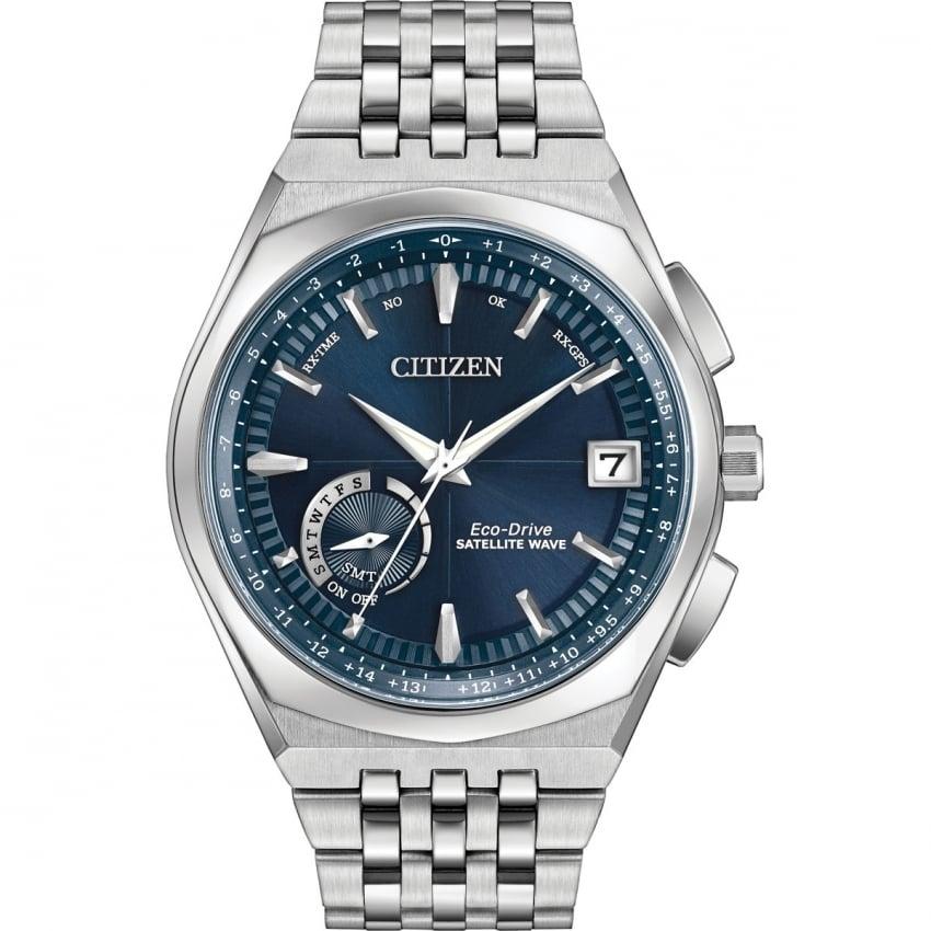Citizen Men's Satellite Wave-World Time GPS Watch CC3020-57L