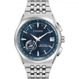 Men's Satellite Wave-World Time GPS Watch
