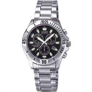 Gents Sports Chronograph Eco-Drive Watch AT0750-55F