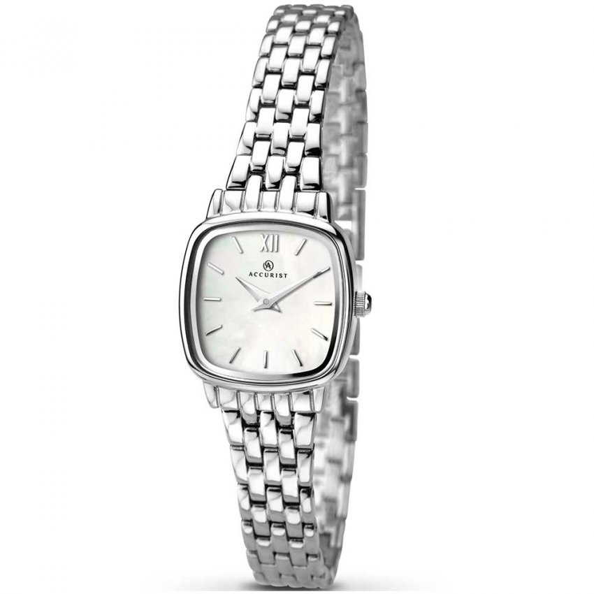 Accurist Women's Silver Tone Classic Watch 8067