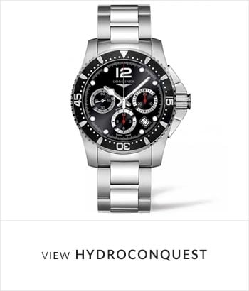 View the Longines HydroConquest Watch Collection