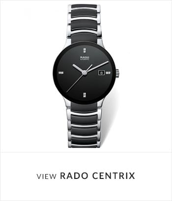 View the RADO Centrix Watch Collection