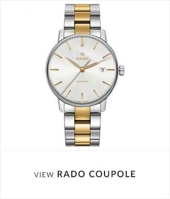 View the RADO Coupole Watch Collection