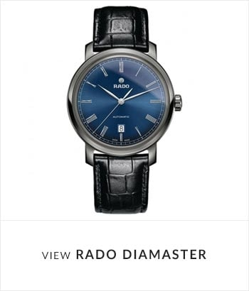 View the RADO DiaMaster Watch Collection