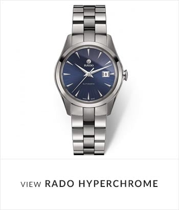 View the RADO HyperChrome Watch Collection