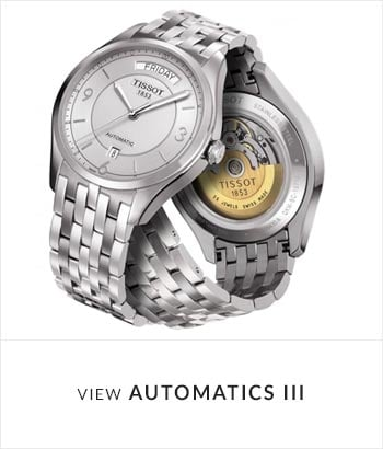 Tissot Automatics III Watch Collection - Shop Now