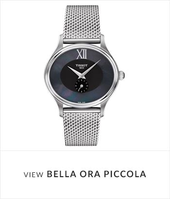 Tissot Bella Ora Piccola Watch Collection - Shop Now