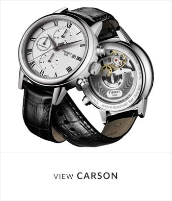 Tissot Carson Watch Collection - Shop Now