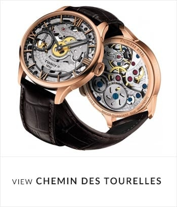 Tissot Chemin Des Tourelles Watch Collection - Shop Now
