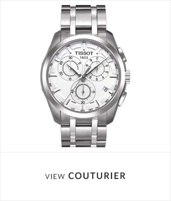 Tissot Couturier Watch Collection - Shop Now