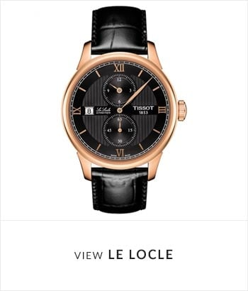 Tissot ALe Locle Watch Collection - Shop Now