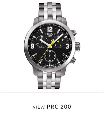 Tissot PRC 200 Watch Collection - Shop Now