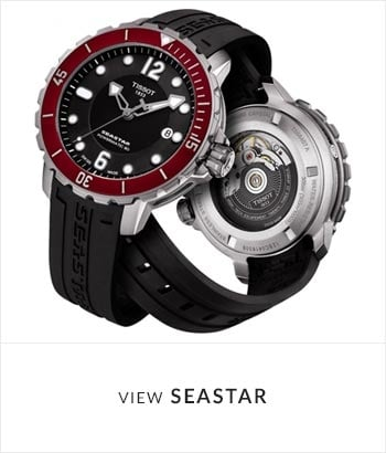 Tissot Seastar Watch Collection - Shop Now
