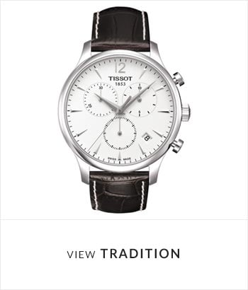 Tissot Tradition Watch Collection - Shop Now