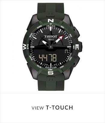 Tissot T-Touch Watch Collection - Shop Now