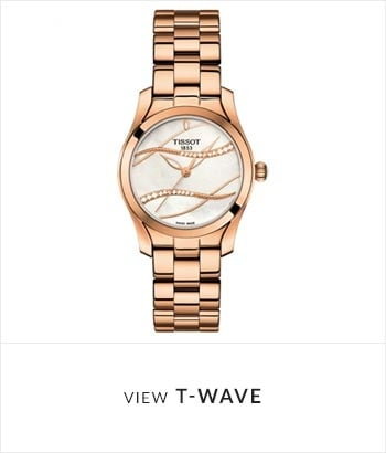Tissot T-Wave Watch Collection - Shop Now