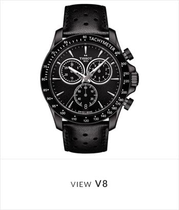 Tissot V8 Watch Collection - Shop Now