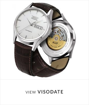 Tissot Visodate Watch Collection - Shop Now