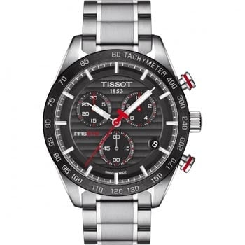 Men's Tissot PRS 516 Chronograph Quartz Watch - Shop Now