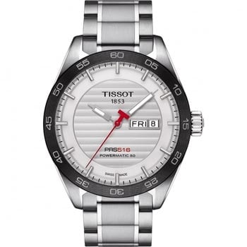 Men's Tissot PRS 516 Powermatic 80 Day-Date Watch - Shop Now