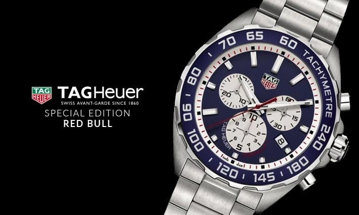 Men's TAG Heuer Red Bull Special Edition Quartz Formula 1 Watch